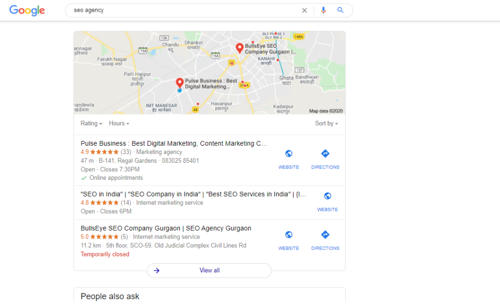 Local SEO Pulse Business
